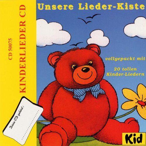 Kinderlieder - Unsere Lieder-Kiste - Preis vom 25.01.2021 05:57:21 h