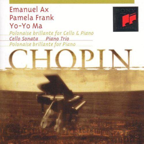 Yo-Yo Ma - Polonaise brillante for Cello & Piano / Cello Sonata / Piano Trio / Polonaise brillante for Piano - Preis vom 19.04.2021 04:48:35 h
