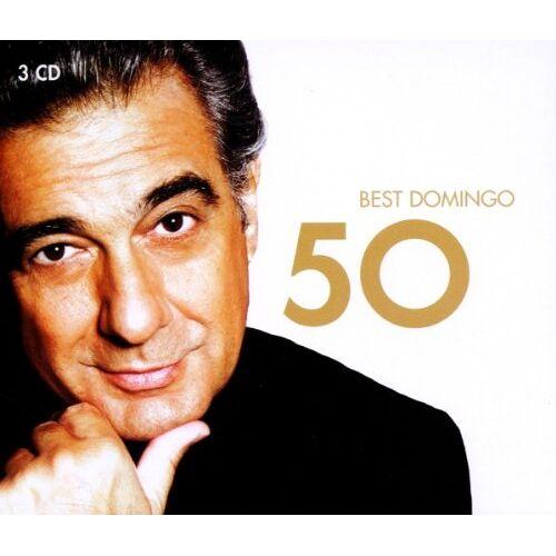 Placido Domingo - 50 Best Placido Domingo - Preis vom 11.05.2021 04:49:30 h