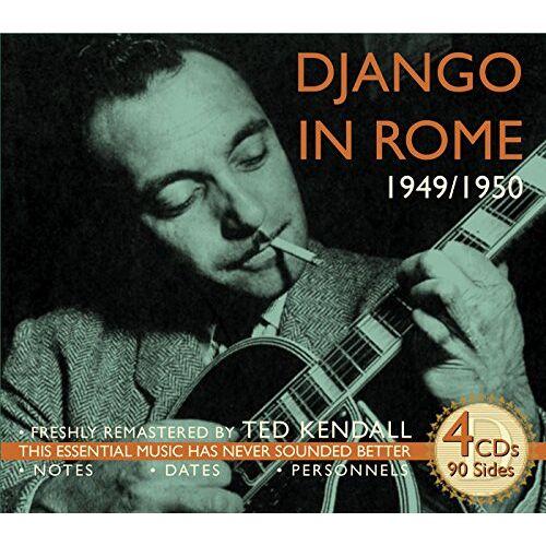 Django Reinhardt - Django Reinhardt in Rome 1949/50 - Preis vom 11.04.2021 04:47:53 h