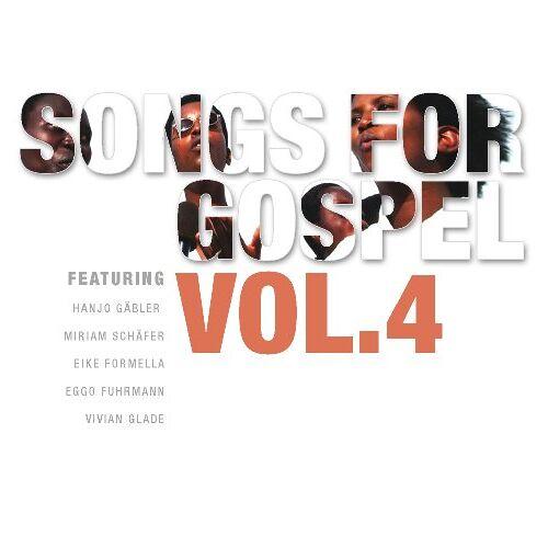 Songs for Gospel - Songs for Gospel vol. 4 - Preis vom 18.04.2021 04:52:10 h