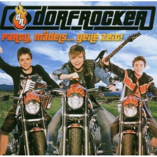 Dorfrocker - Party,Mädels...Geile Zeit! - Preis vom 14.04.2021 04:53:30 h