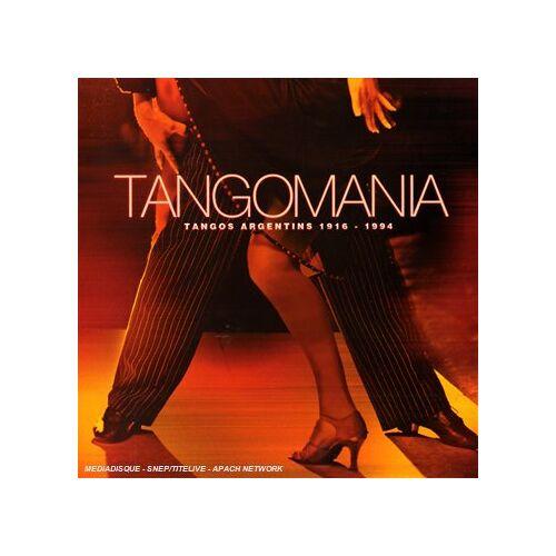 Various - Tangomania Tango Argentins 1916-199 - Preis vom 28.05.2020 05:05:42 h