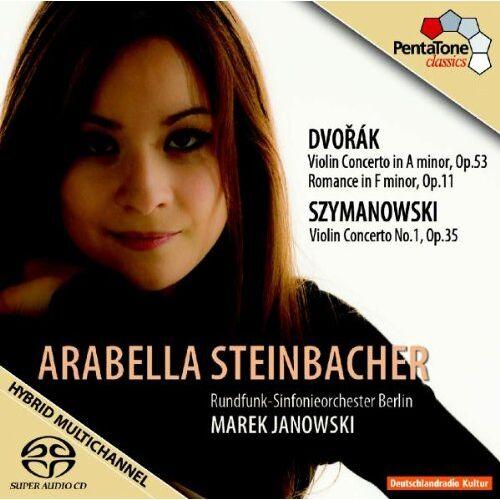 Arabella Steinbacher - Violinkonzert Op.53/Romanze/Violinkonzert Op.35 - Preis vom 07.03.2021 06:00:26 h