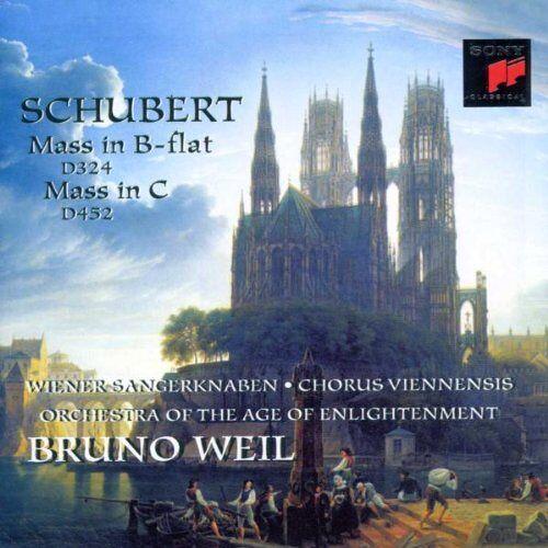 Wiener Sängerknaben - Messen B-Dur D 324, C-Dur D 452 - Preis vom 05.09.2020 04:49:05 h