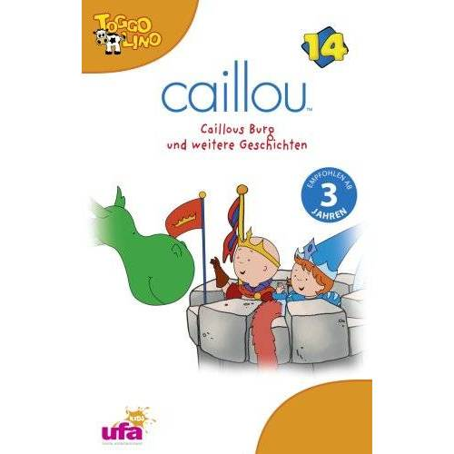 Caillou - Caillou 14/Audio:Caillous Burg und Weitere Gesch [Musikkassette] - Preis vom 05.05.2021 04:54:13 h