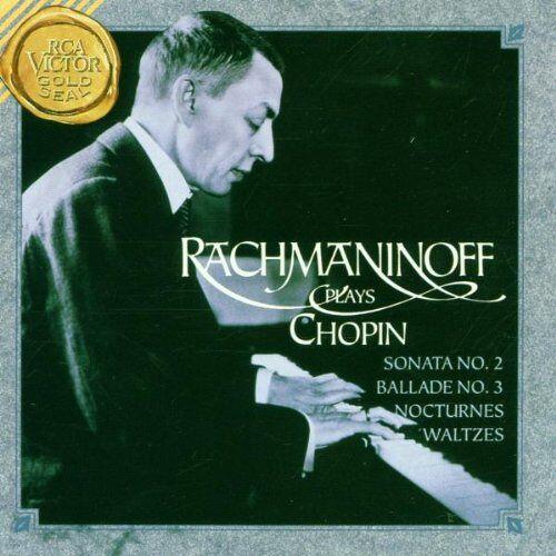 Sergei Rachmaninoff - Rachmaninoff spielt Chopin - Preis vom 03.12.2020 05:57:36 h