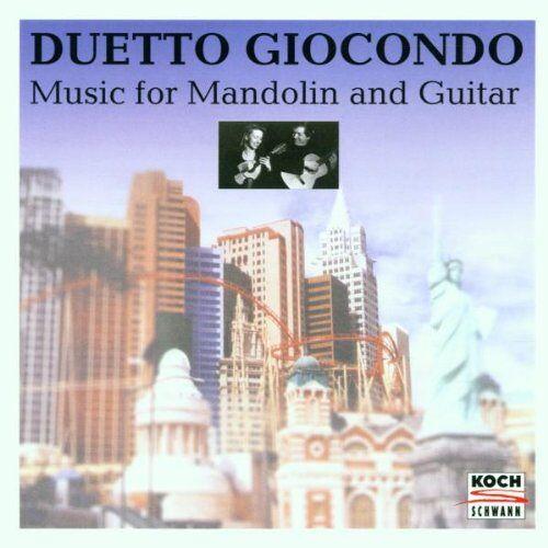 Duetto Giocondo - Amerikanische Musik für Mandoline und Gitarre - Preis vom 28.02.2021 06:03:40 h