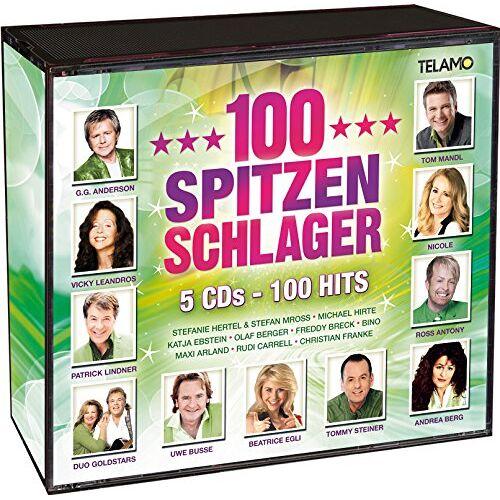 Various - 100 Spitzen Schlager - Preis vom 18.04.2021 04:52:10 h