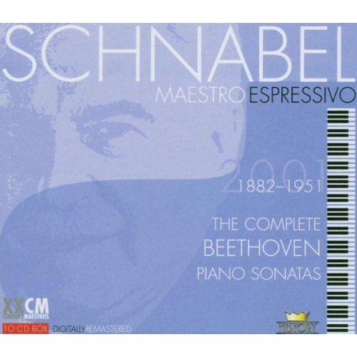 Artur Schnabel - Schnabel-Maestro Espressivo - Preis vom 05.09.2020 04:49:05 h
