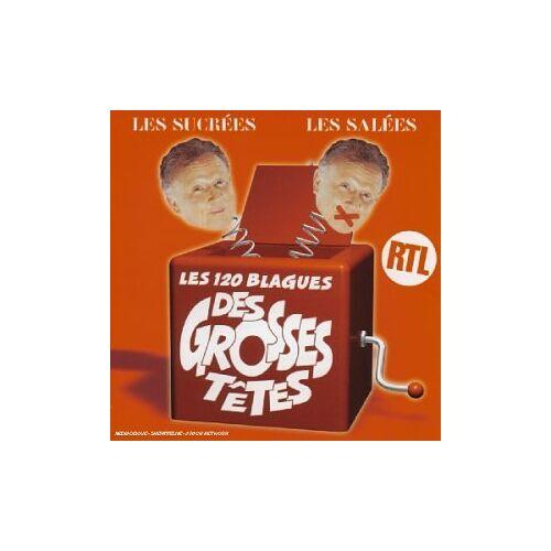 les Grosses Tetes - Les Blagues des Grosses Tetes - Preis vom 16.04.2021 04:54:32 h