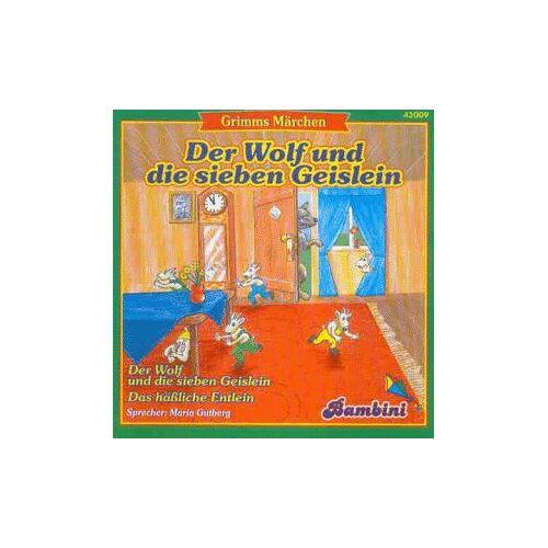 Maria Gutberg - Wolf & die 7 Geislein - Preis vom 16.05.2021 04:43:40 h