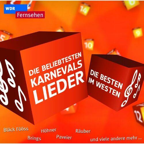 Various - Die Besten im Westen - Die beliebtesten Karnevalslieder - Preis vom 15.04.2021 04:51:42 h