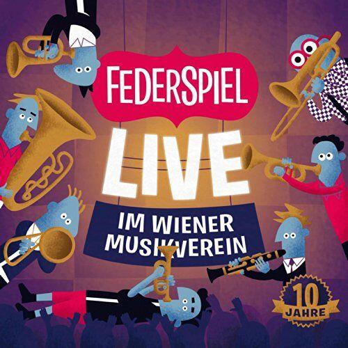 Federspiel - Live im Wiener Musikverein - Preis vom 20.10.2020 04:55:35 h