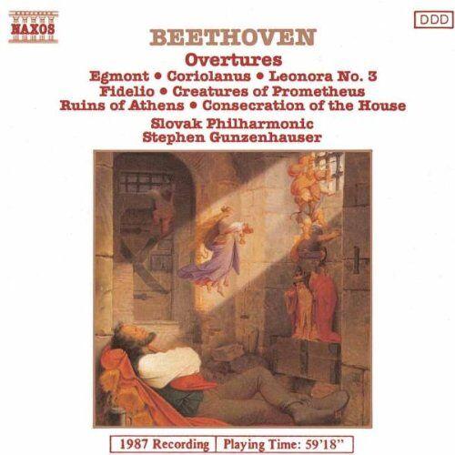 Gunzenhauser - Beethoven Ouvertüren Vol 1 Gunzenh - Preis vom 27.02.2021 06:04:24 h