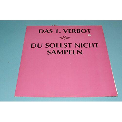 1. Verbot - Du sollst nicht sampeln (6:25min., 1988) [Vinyl Single] - Preis vom 06.05.2021 04:54:26 h
