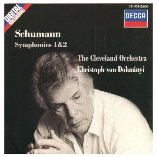 Dohanyi/Co - Schumann:Syms. 1 & 2 - Preis vom 16.04.2021 04:54:32 h