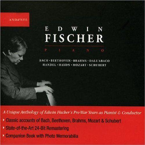 Edwin Fischer - Edwin Fischer,Piano - Preis vom 26.02.2021 06:01:53 h
