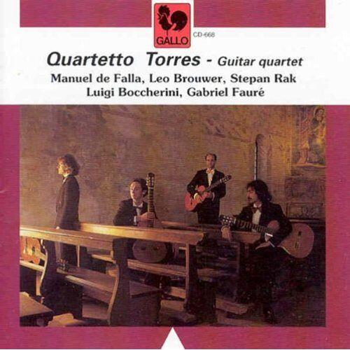 Quartetto Torres - Gitarrenquartette - Preis vom 11.05.2021 04:49:30 h