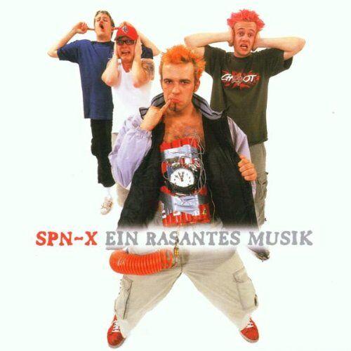 Spn-X - Ein Rasantes Musik - Preis vom 11.04.2021 04:47:53 h