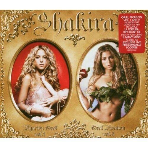 Shakira - Oral Fixation Volumes 1 & 2 (2 CDs + DVD) - Preis vom 08.04.2020 04:59:40 h