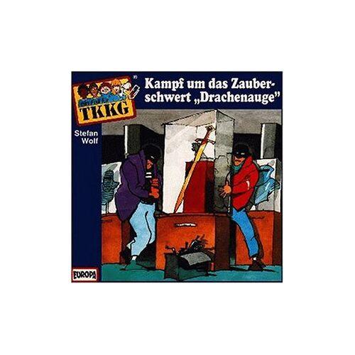 Tkkg 88 - 088/Kampf Um Das Zauberschwert Drachenauge [Musikkassette] - Preis vom 05.09.2020 04:49:05 h