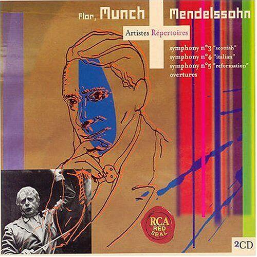 - Mendelssohn: Symphonie 3, Symphonie 4, Symphonie 5, Ouvertures - Preis vom 11.05.2021 04:49:30 h