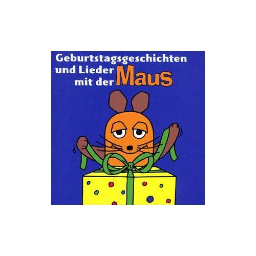 die Maus - Geburtstagsgeschichten & Lieder - Preis vom 27.02.2021 06:04:24 h