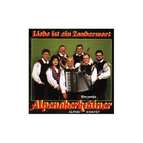 Alpenoberkrainer - Liebe Ist Ein Zauberwort - Preis vom 06.05.2021 04:54:26 h