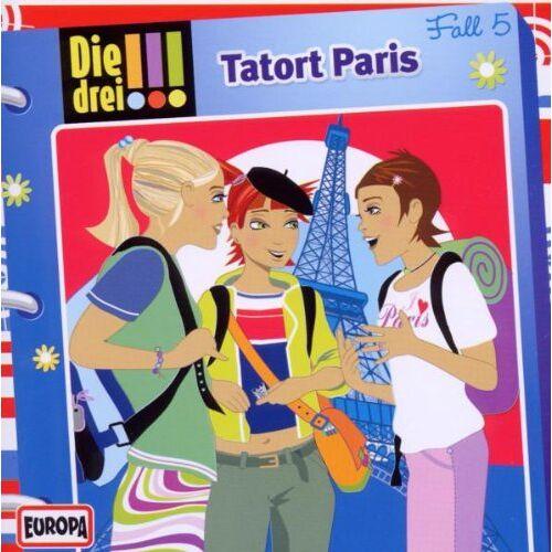 Die drei ??? - Folge 005 - Tatort Paris - Preis vom 18.04.2021 04:52:10 h