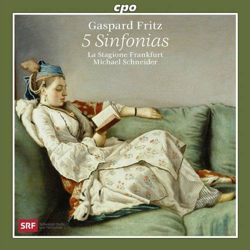 La Stagione Frankfurt - Gaspard Fritz: Sinfonie op6/3 G-Dur, Sinfonie op1/6 A-Dur, Sinfonie op6/6 G-Dur, Sinfonie op1/5 F-Dur, Sinfonie op6/5 F-Dur - Preis vom 20.10.2020 04:55:35 h