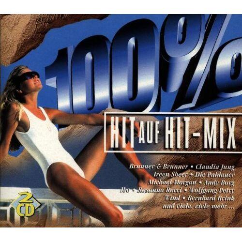 Various - 100 Prozent Hit auf Hit Mix - Preis vom 14.05.2021 04:51:20 h