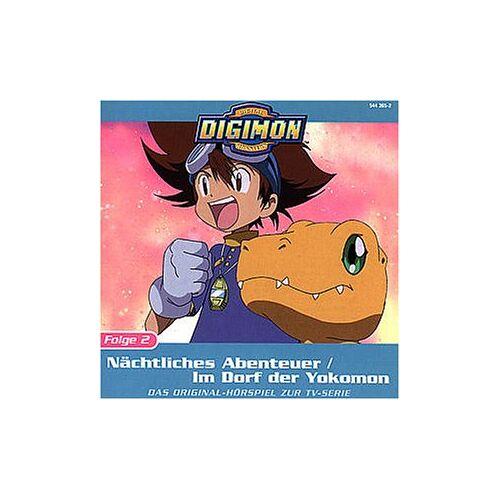 Digimon - Folge 2: Naechtliches Abenteuer - Preis vom 06.05.2021 04:54:26 h