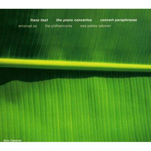 Emanuel Ax - Liszt: Piano Concertos/Concert Paraphrases - Preis vom 09.04.2021 04:50:04 h