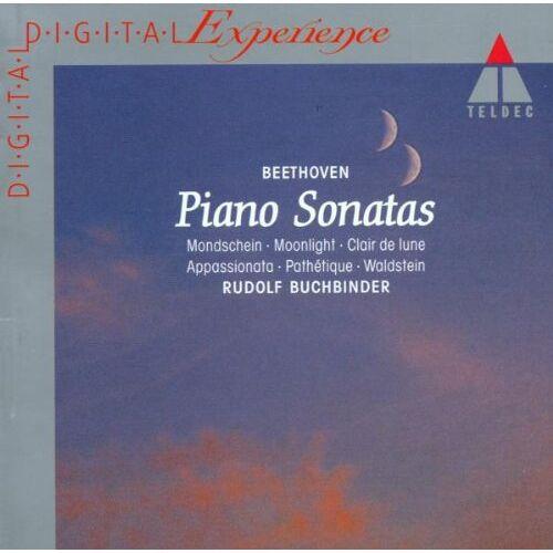 Rudolf Buchbinder - Klaviersonate (Mondschein u.a. ) - Preis vom 18.04.2021 04:52:10 h