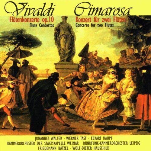Walter - Flötenkonzerte von Cimarosa und Vivaldi - Preis vom 22.02.2021 05:57:04 h
