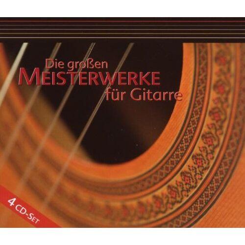 Various - Die Grossen Meisterwerke für Gitarre - Preis vom 17.01.2021 06:05:38 h