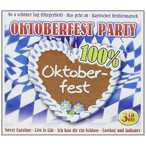 Various - Oktoberfest Party-100 % Okto - Preis vom 26.10.2020 05:55:47 h