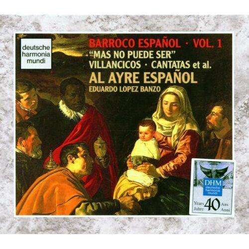 Al Ayre Espanol - Barroco Espanol Vol. 1 (Mas no puede ser) - Preis vom 28.10.2020 05:53:24 h