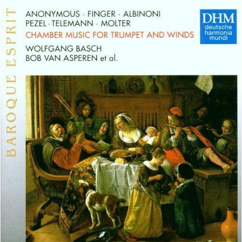 Asperen, Bob Van - Baroque Esprit - Kammermusik für Trompete und Bläser - Preis vom 14.04.2021 04:53:30 h