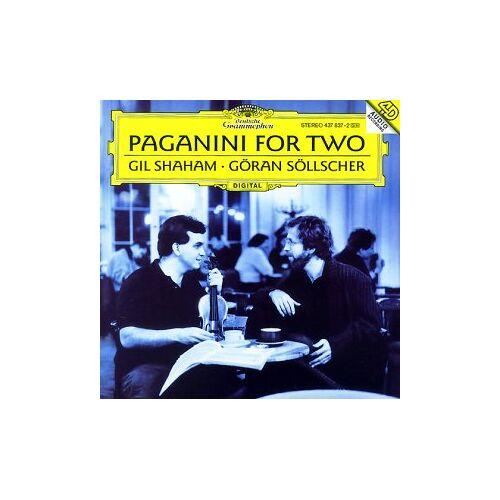 G. Shaham - Paganini For Two (Werke für Violine und Gitarre) - Preis vom 17.01.2021 06:05:38 h