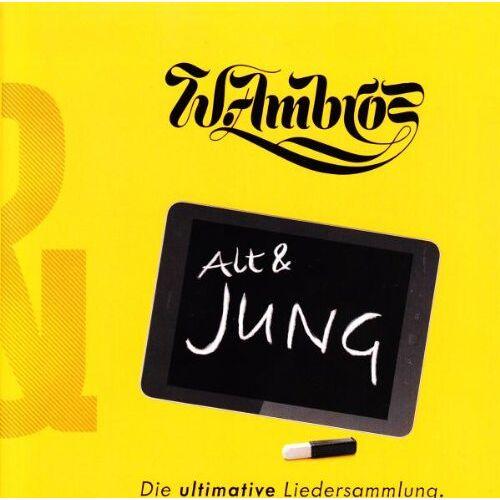 Wolfgang Ambros - Alt & JUNG - Die ultimative Liedersammlung - Preis vom 13.04.2021 04:49:48 h