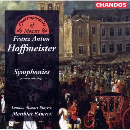 Juritz - Hoffmeister: Sinfonien - Preis vom 20.10.2020 04:55:35 h