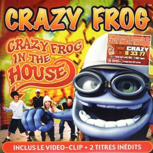 Crazy Frog - Crazy Frog in the House - Preis vom 09.04.2021 04:50:04 h