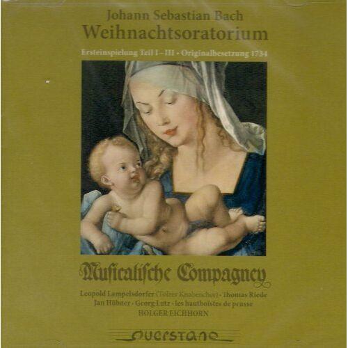 Lampelsdorfer - Weihnachtsoratorium Bwv 248,Teil 1 Bis 3 - Preis vom 20.10.2020 04:55:35 h