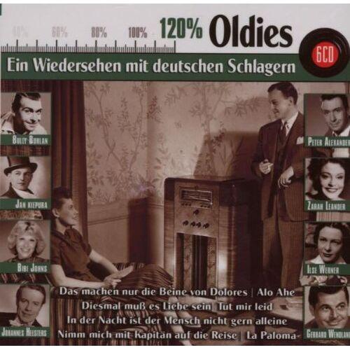 Various - 120 Prozent Oldies - Preis vom 15.05.2021 04:43:31 h