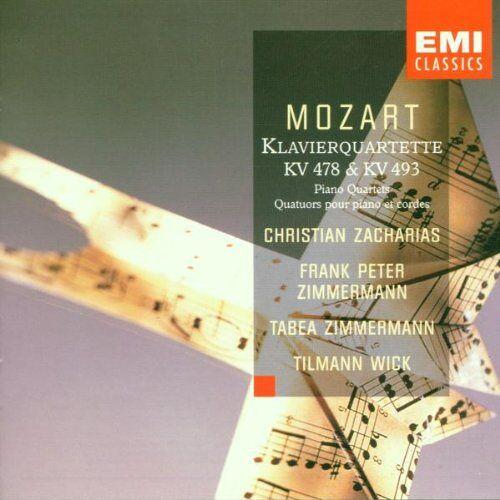 Fp+T Zimmermann - Klavierquartette KV 478 und 493 - Preis vom 20.10.2020 04:55:35 h