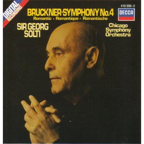 Anton Bruckner - Bruckner: Symhony No. 4 - Preis vom 15.04.2021 04:51:42 h