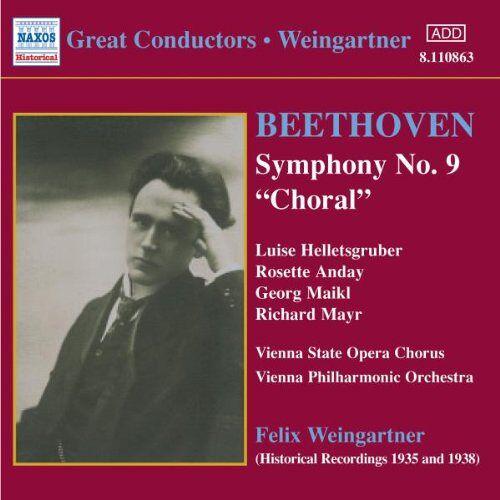 Felix Weingartner - Symphonie Nr. 9 - Preis vom 18.04.2021 04:52:10 h