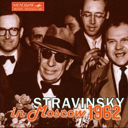 Igor Stravinsky - Strawinsky in Moskau (1962) - Preis vom 21.10.2020 04:49:09 h